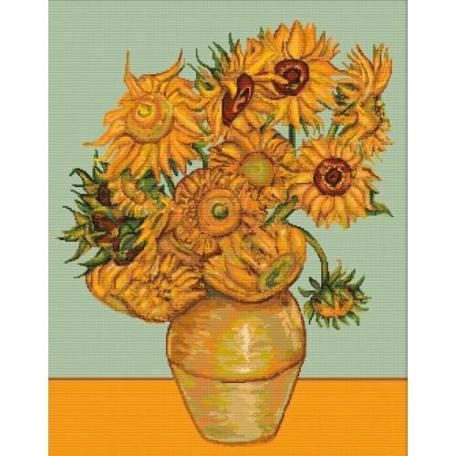 Los Girasoles (V. Van Gogh)