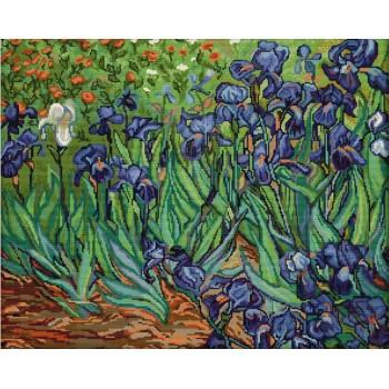 Campo con Irises (Van Gogh)
