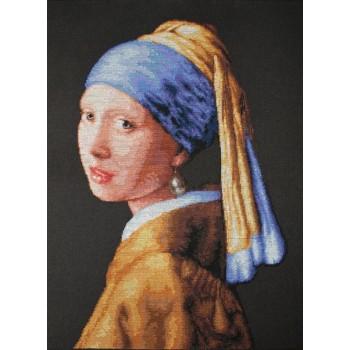La Joven de la Perla (J. Vermeer)