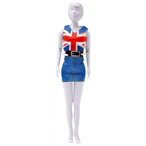 Dress Your Doll: Combi Red&Blue