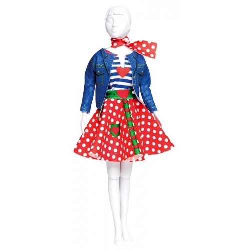 Dress Your Doll: Lucy Polka Dots