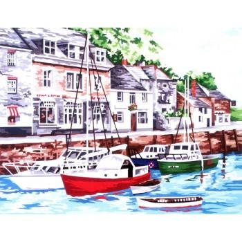 Barcos en el Puerto de Padstow