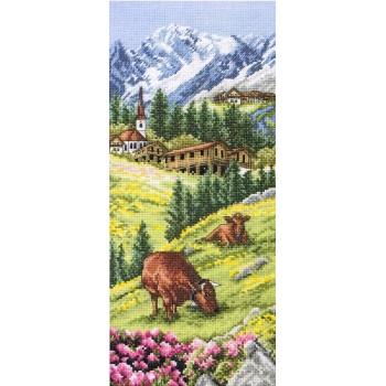 Paisaje Alpino de Suiza