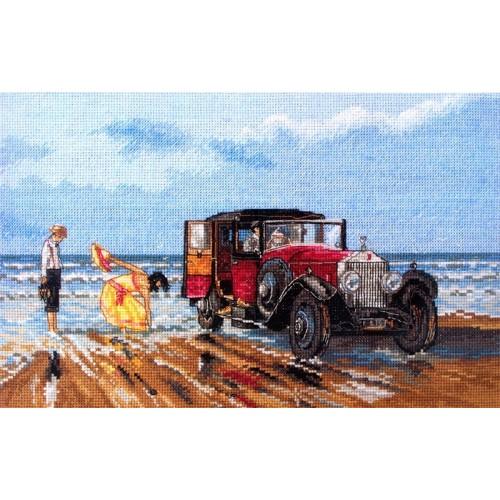 Rolls Vintage en la Playa