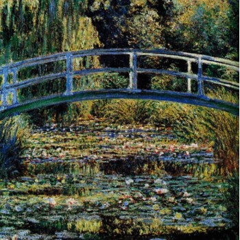 Puente Japonés (C. Monet)