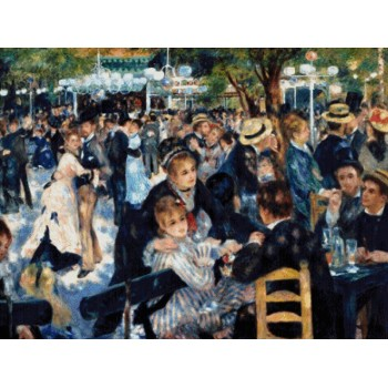 Baile en el Moulin de la Galette (A. Renoir)