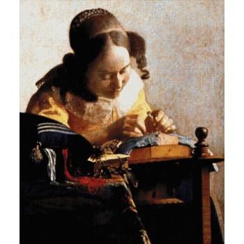 La Encajera (J. Vermeer)