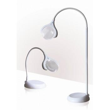 Lámpara con Lupa de pie/sobremesa