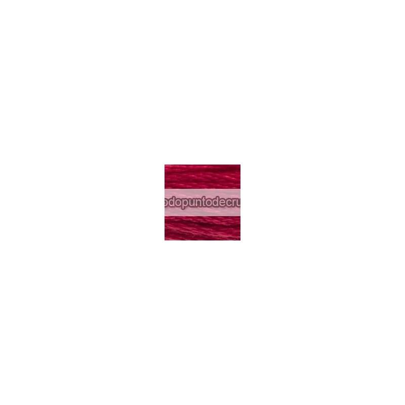 Hilo Mouliné DMC 3831 (versión rojo)