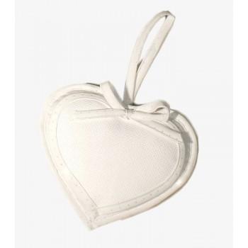 Corazón con Topitos Plata
